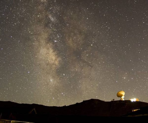 Lluvia de estrellas que entran en la atmósfera a más de 210.000 kilómetros por hora